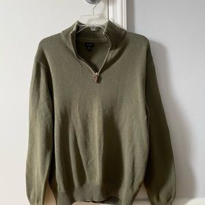 Jcrew quarter zip pullover